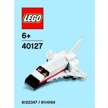 LEGO Polybag 40127 Monthly Mini Model Space Shuttle