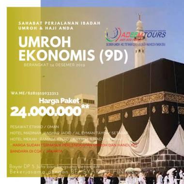 harga adeemtour Paket Umroh by EY [ 14 Desember 2019] Blibli.com