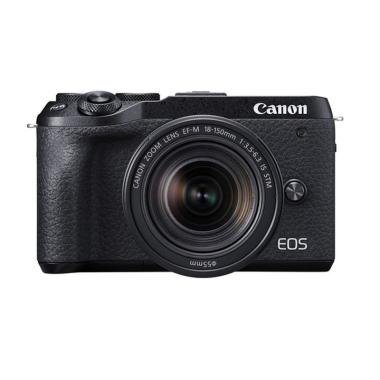 harga Canon EOS M6 Mark II with 18-150mm Digital Kamera Mirrorles Blibli.com