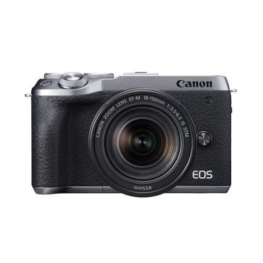 Canon EOS M6 Mark II with 18-150mm Digital Kamera Mirrorles - Braga Photo Video