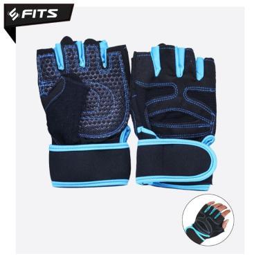 harga Sarung Tangan Gym Gloves Untitled Sarung Tangan Fitness Gloves Gym L biru Blibli.com