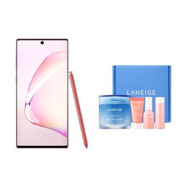 Samsung Galaxy Note10 Smartphone Android [256GB/ 8GB/A] - Aura Pink + Free Laneige WSM x Samsung [OL 19]