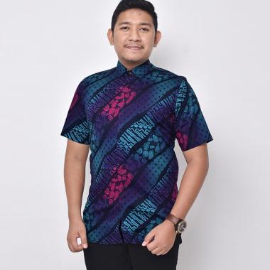 harga Bsg_fashion1 Gradiasi Kemeja Batik Pria Lengan Pendek [6127] Blibli.com