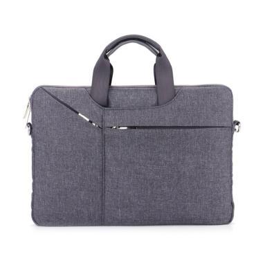 harga ISMN Qinuo Sleeve Case Shockproof Tas Laptop - Grey [14 Inch] Blibli.com