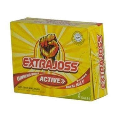 harga Kalbe Extra Joss Active Minuman Stamina [6 pcs] Blibli.com
