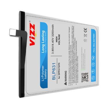 harga Vizz BLP631 Baterai Handphone for OPPO F3 & OPPO F5 [Original] Blibli.com