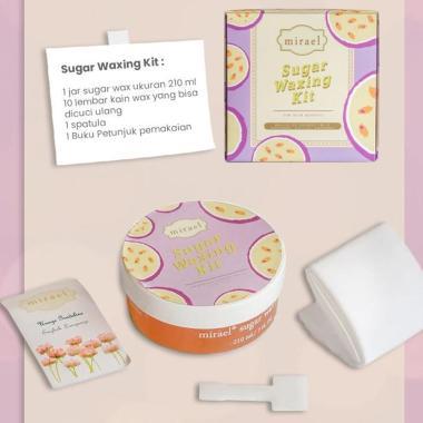 harga Mirael Mirael Sugar Passion Fruit  Waxing Kit Penghilang Bulu Blibli.com