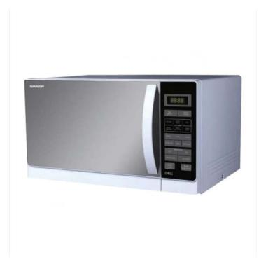 harga SHARP R728(W)IN Microwave Oven [25 L] Silver Blibli.com