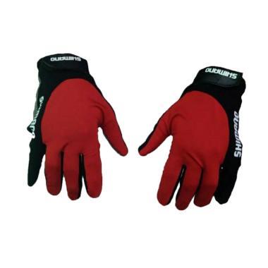 harga Shimano Polos Full Fingers Sarung Tangan Sepeda Blibli.com