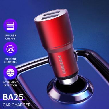 COMBO-Foomee BA25S Dual USB 5V2.4A Car Charger