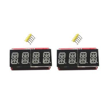 harga OEM Digital LED Display Module for 14 Segment - Red or Orange [4 bit/ 0.54 Inch/ 2 pcs] - Blibli.com