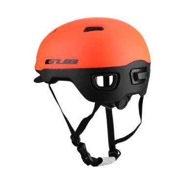 GUB City Pro Helm Sepeda - Orange [Size L]