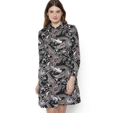 Batik Agrapana Rajata Batik Print Dress Wanita