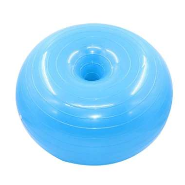 harga Bluelans 50cm Donut Gym Exercise Workout Fitness Pilates Inflatable Balance Yoga Ball Blibli.com