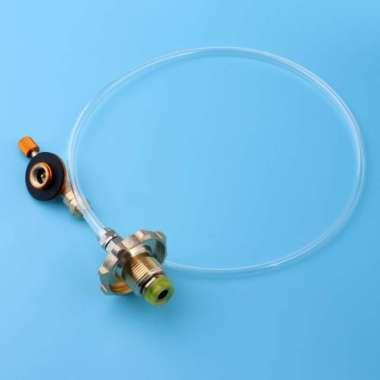 harga Outdoor Gas Stove Camping Propane Refill Adapter Burner Cylinder - Blibli.com