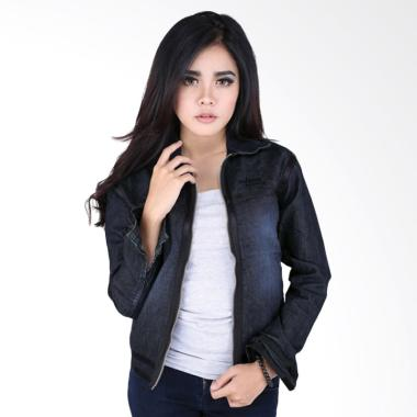Catenzo Kesha NJ 911 Jaket Denim Wanita