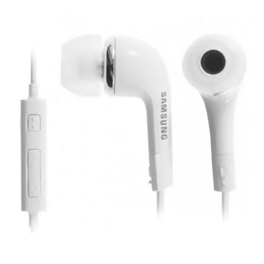 Samsung Galaxy S4-S5 Headset - White
