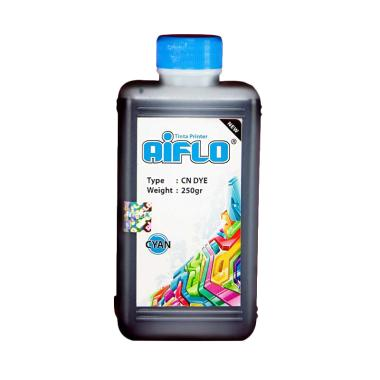 AIFLO Tinta Printer for Canon - Cyan [250 mL]