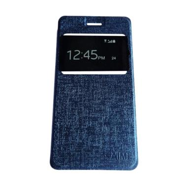 AIMI Flip Cover Casing for Vivo Y15 - Navy