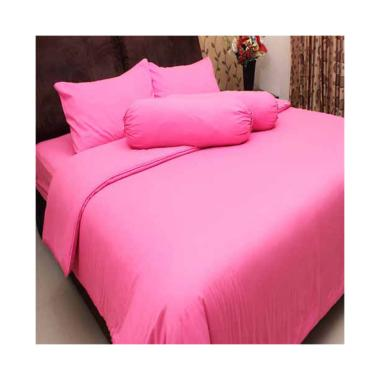 Chelsea Microtex Set Sprei - Polos Pink