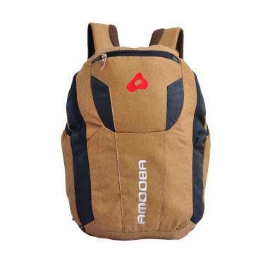 Amooba Tas Ransel Backpack Robotic - Krem