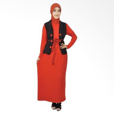 Java Seven Gamis Wanita Arista OKI 001 - Orange