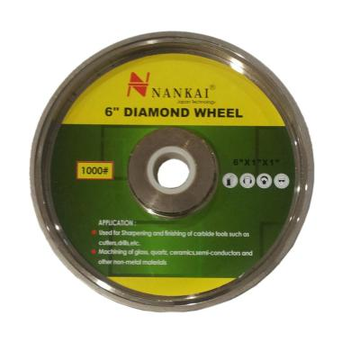 Nankai Batu Asah Poles Akik Diamond [6 Inch/ #1200]