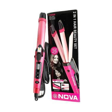 harga Nova 2 In 1 Lurus Keriting Catok Rambut Blibli.com