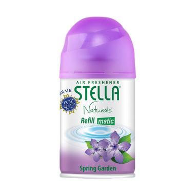 harga Stella Matic Refill Spring Garden Pengharum Ruangan [225 mL] Blibli.com