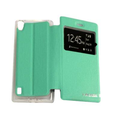 AIMI Flip Cover Casing for Vivo Y15 - Tosca