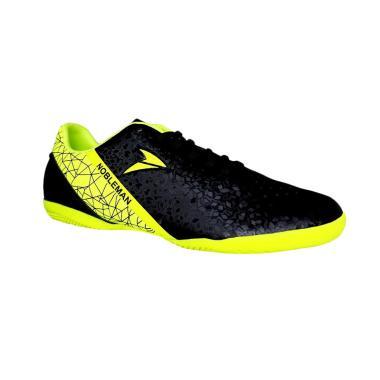 Nobleman Fury Sepatu Futsal - Black
