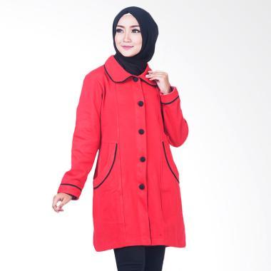 Believe BJM-02 Jaket Muslim Wanita - Merah