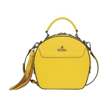 Bonia Trastevere Sonia Hand Bag - Yellow