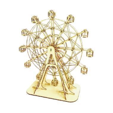 Kigumi Ferris Wheel 3D Puzzle Kayu