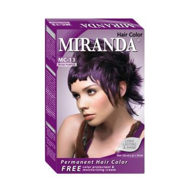 Miranda Hair Color Mc13 Rose Purple 30 Ml