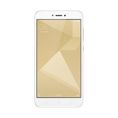 Xiaomi Redmi 4X Smartphone - Gold [32 GB/ 3 GB] Gratis Fashion Case