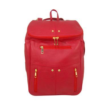 Baglis Elena Backpack Ransel Wanita - Merah