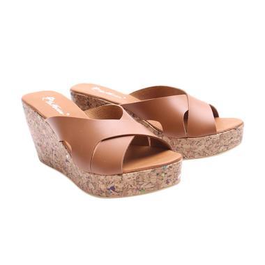 Dr.Kevin 27347 Women Wedges Sandals - Tan