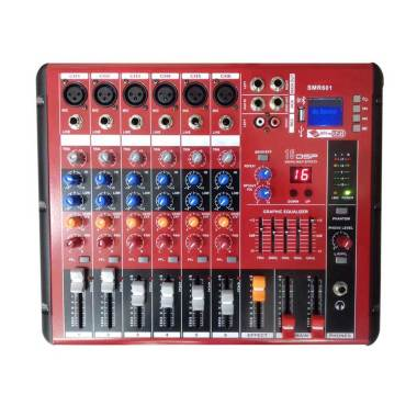 Dusen Berg SMR-601 USB 6 Channel Audio Mixer