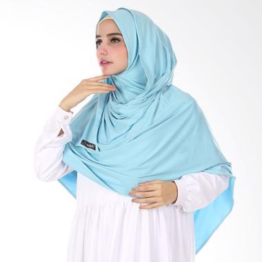 Nuhijab Shawl Semi Instant - Baby Blue