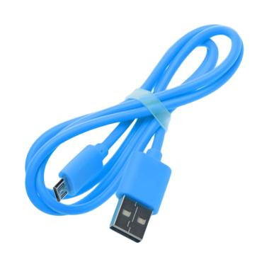 Vivan Micro USB Kabel Data - Biru