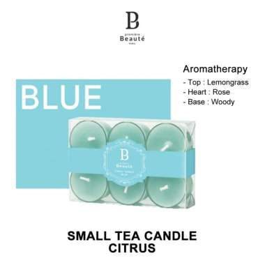 harga PREMIERE BEAUTE SMALL TEA BLUE CANDLE AROMATERAPI LILIN ORIGINAL Blibli.com
