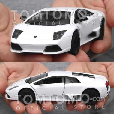 harga Diecast Lamborghini Murcielago Miniatur Mobil Mobilan Mainan Anak Rmz - Hitam Blibli.com