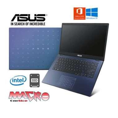 harga Asus E410MA-BV454VIPS/BV455VIPS/BV457VIPS/BV458VIPS [ Celeron N4020/4GB/512GB SSD/14″FHD/Win 10 Home+OHS 2019 ] Peacock Blue Blibli.com