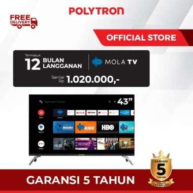 "POLYTRON Smart Android TV 43"" PLD 43AG9953 43 inch"