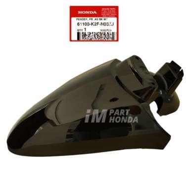 AHM 61100-K2F-N00ZJ Slebor Spakbor Depan Scoopy eSP K2F Hitam Glossy