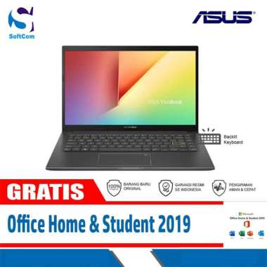 harga Asus VivoBook K413EA-AM551IPS Notebook [Core i5-1135G7/8GB/512GB SSD/14