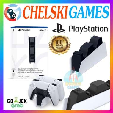 harga Chelski Games - DUALSENSE CHARGING STATION PS5 ORIGINAL / CHARGING DOCK STICK PS5 Blibli.com