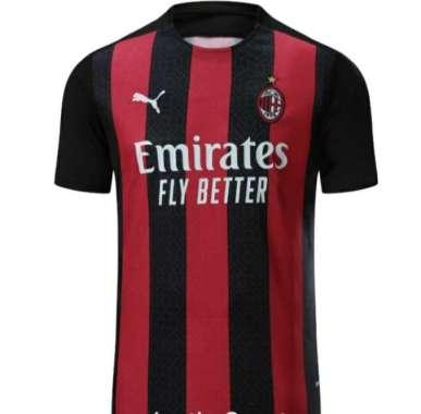harga Jersey bola tim AC Milan home new XL Merah Blibli.com