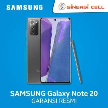 Samsung Galaxy Note 20 Smartphone [256GB] - Garansi Resmi Mystic Gray
